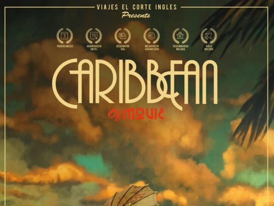 Viajes el Corte Ingles Print Ad - Caribbean of Movie