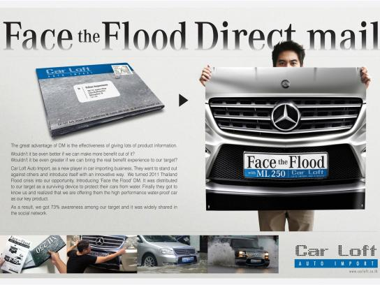 Carloft Auto Import Direct Ad -  Face the Flood