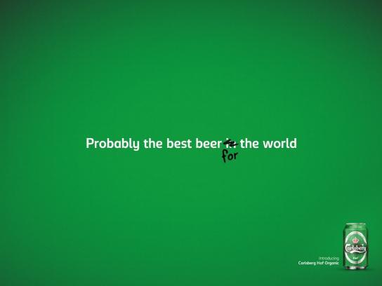 Carlsberg Print Ad -  Best