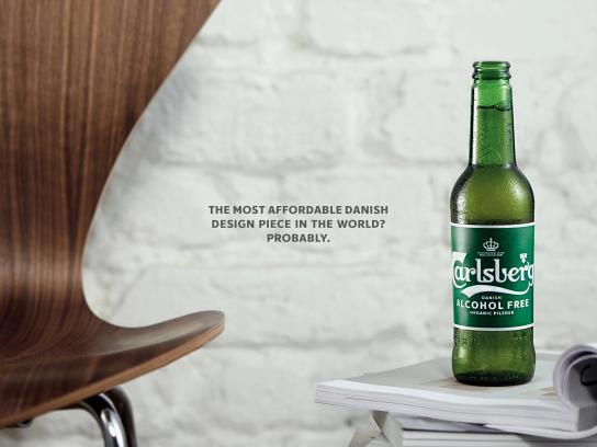 Carlsberg Print Ad - A Danish Classic Reborn