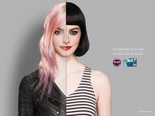 Caixa Print Ad -  Grunge/Clubber