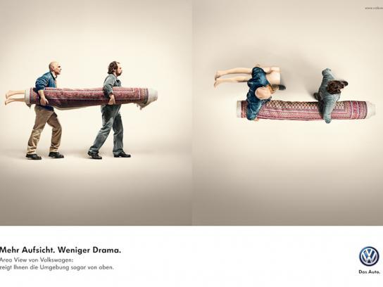 Volkswagen Print Ad -  Carpet