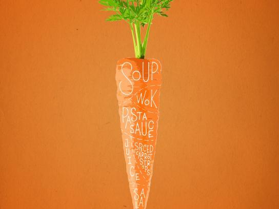 Botaniq Outdoor Ad -  Carrot