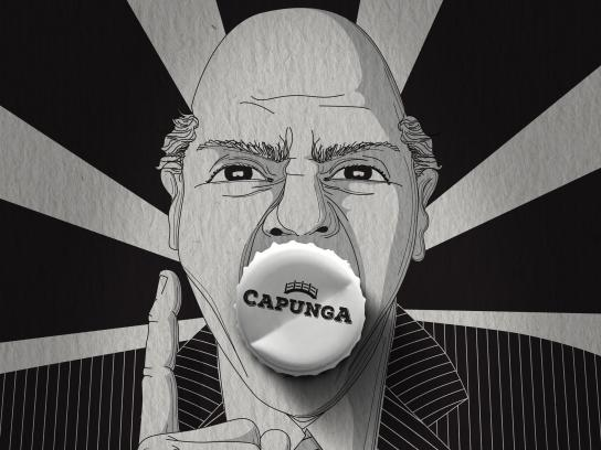 Capunga Craft Beer Print Ad - Boss