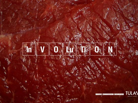 Tulasi Organic Market Print Ad - Meat