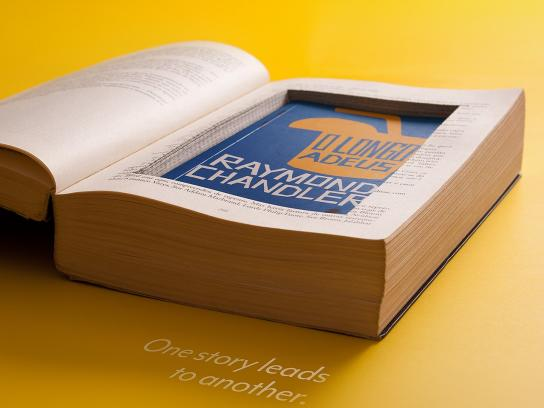 Ponteio Book Club Print Ad -  Stories, 1
