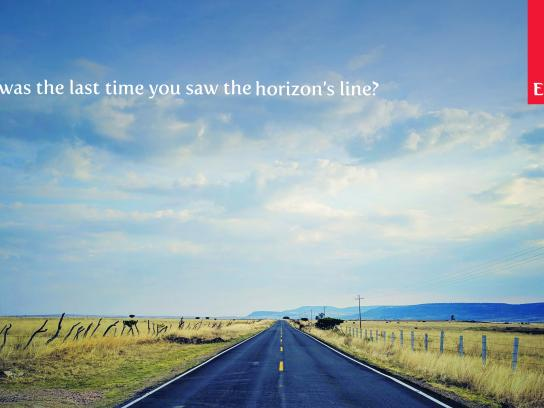 Emirates Outdoor Ad - The Horizon's Line