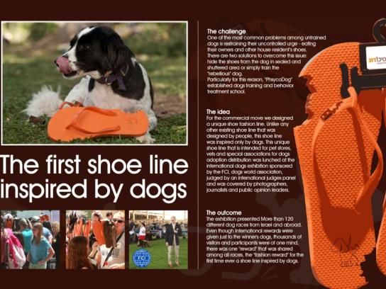 Psychodog Direct Ad -  The first shoe line inspired by dogs