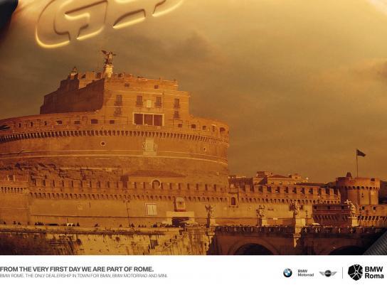 BMW Print Ad -  Castel Sant'Angelo
