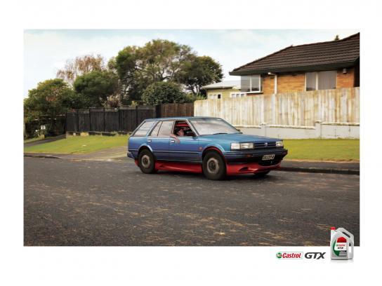 Castrol Print Ad -  Ferrari