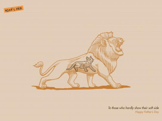 Noah's Ark Creative Print Ad - Father's Day, 3