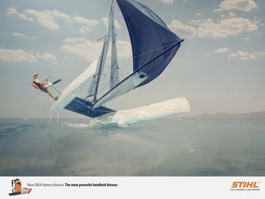 Stihl Print Ad -  Catamaran