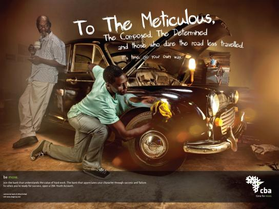 Central Bank of Africa Print Ad -  Meticulous
