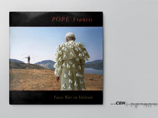 CBN Print Ad - Pope Francis