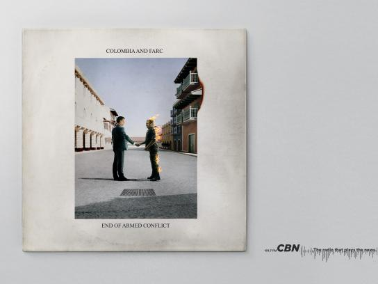 CBN Print Ad - Columbia and Farc