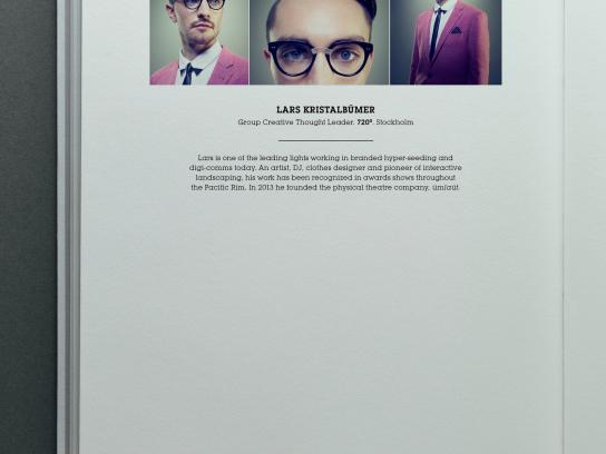 Creative Circle Awards Print Ad -  Lars Kristalbumer