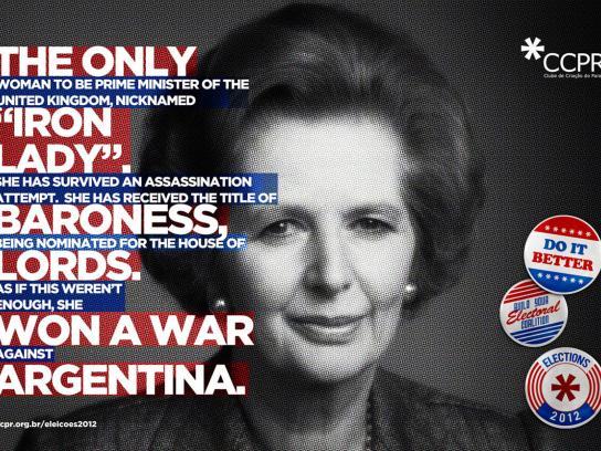 CCPR Print Ad -  Thatcher