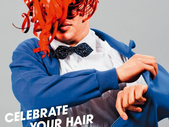 Coiff Your Success Print Ad -  Celebrate your hair