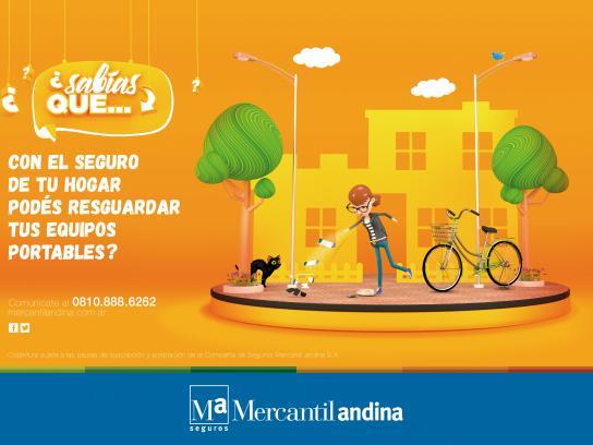 Mercantil Andina Print Ad - Cellular