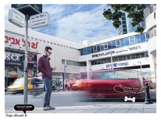 Dizengof Print Ad - Pole