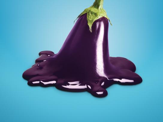 Calgary Farmers' Market Outdoor Ad -  Eggplant