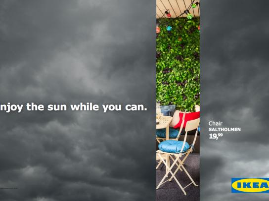 IKEA Outdoor Ad - Don't Miss the Summer - Chair