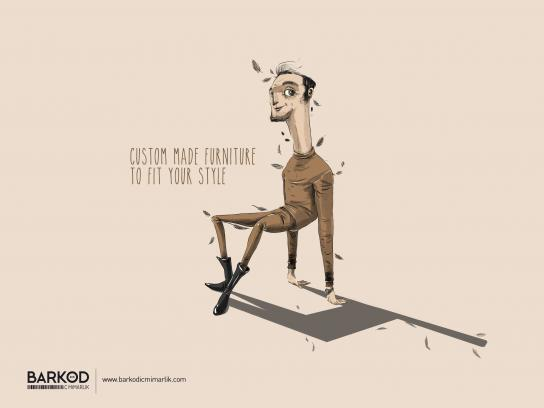 Barkod İç Mimarlık Print Ad - Custom made furniture to fit your style, 1