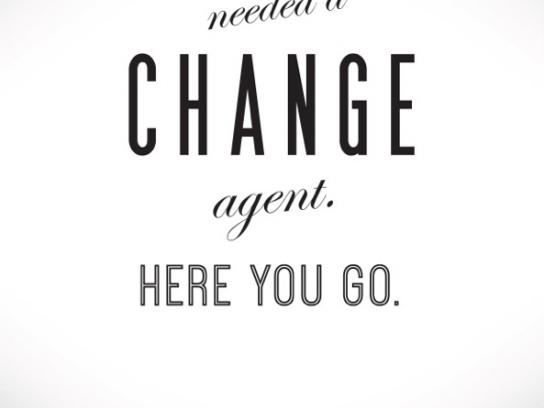 Capital One Print Ad -  Change