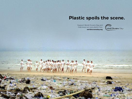 World Oceans Day Print Ad - Chariots