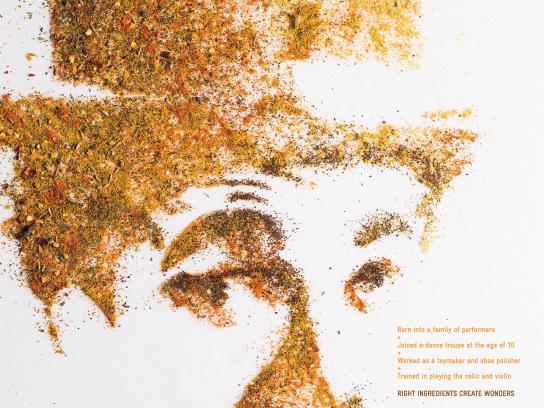 My Roti Print Ad - Charlie Chaplin
