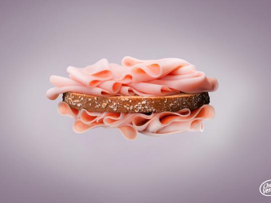 Charvenca Print Ad - Ham Quality - Bread