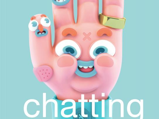 Telcel Print Ad -  Chat