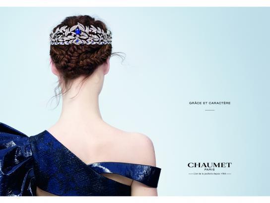Chaumet Print Ad - Grâce et Caractère