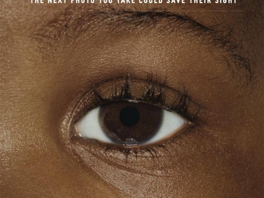 Childhood Eye Cancer Trust Outdoor Ad -  Eye, 3