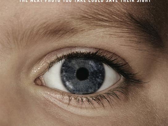 Childhood Eye Cancer Trust Outdoor Ad -  Eye, 4