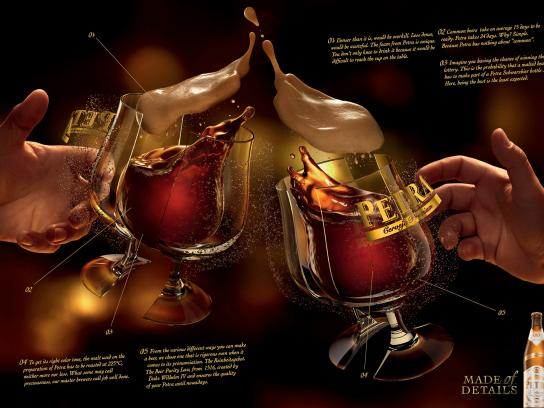 Petra Print Ad -  Cheers