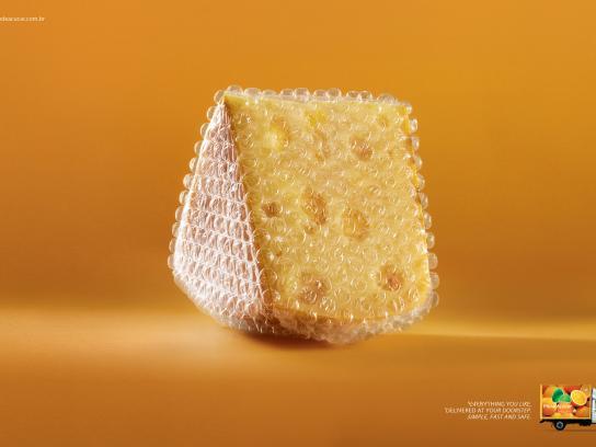 Pão de Açúcar Print Ad -  Cheese