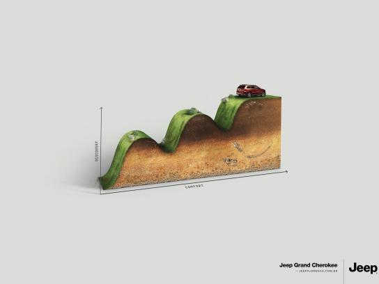 Jeep Print Ad -  Cherokee
