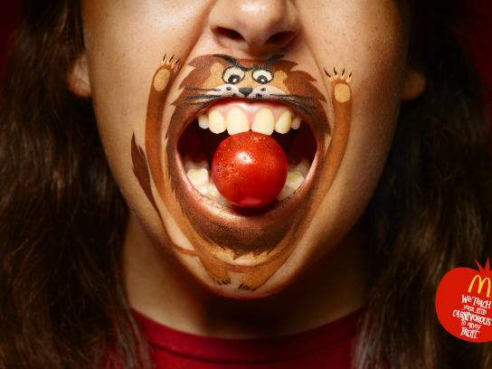 McDonald's Print Ad - Little Carnivores - Cherry