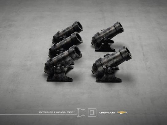 Chevrolet Print Ad -  Cannon