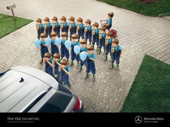Mercedes Outdoor Ad -  Child