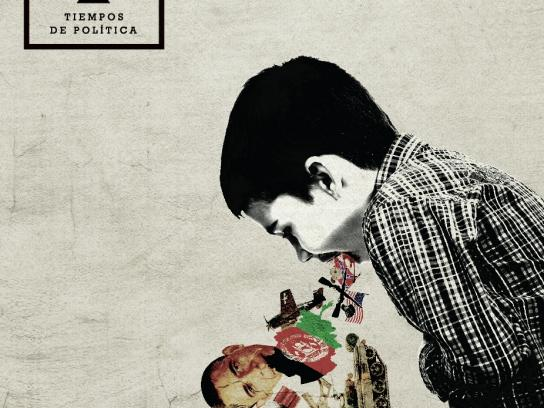 Tiempos de Política Print Ad -  A program that talks about stuff that makes everyone throw up, 2