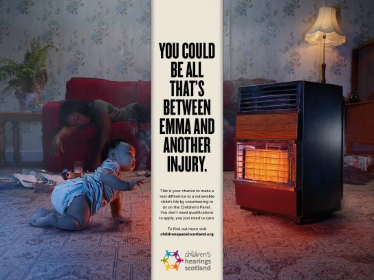 Children's Hearings Scotland Print Ad -  Emma
