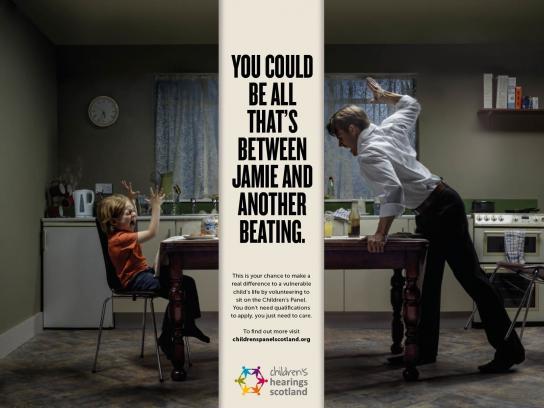Children's Hearings Scotland Print Ad -  Jamie