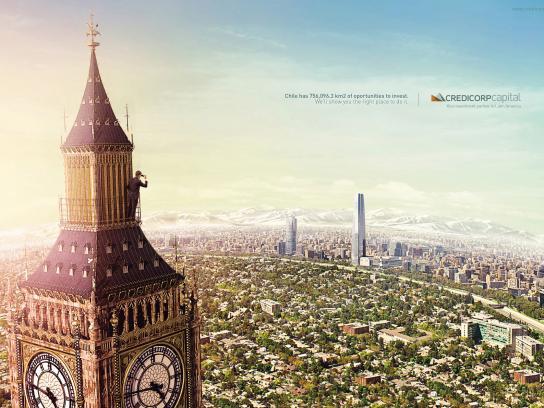 Credicorp Print Ad -  Chile