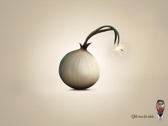 Hellmann's Print Ad -  Onion