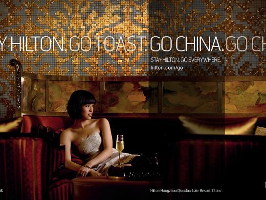 Hilton Print Ad -  China, 2