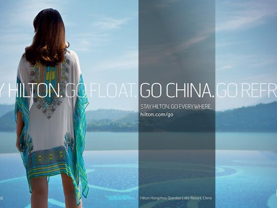 Hilton Print Ad -  China, 3