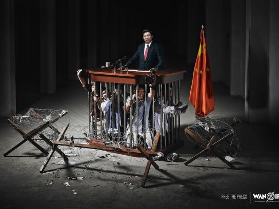WAN IFRA Print Ad -  China