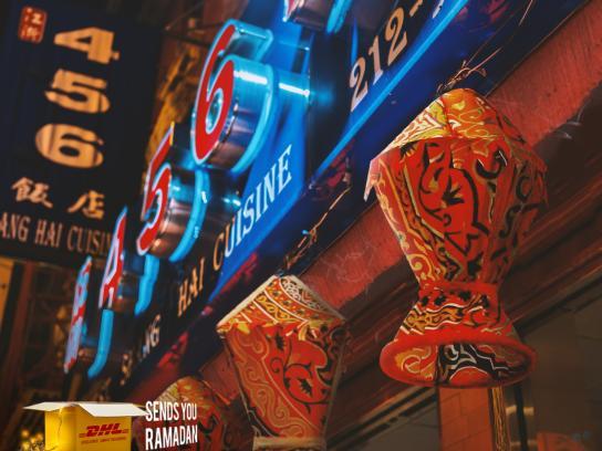 DHL Print Ad - Chinatown - NYC